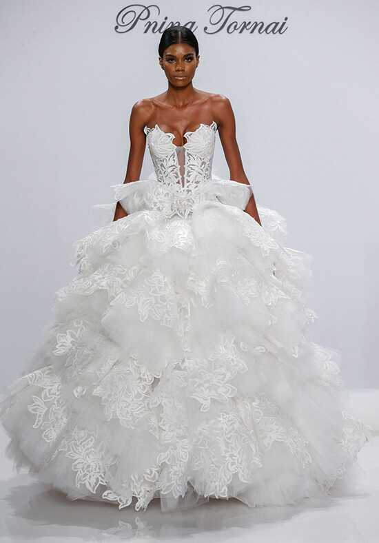 Pnina Tornai for Kleinfeld 4531 Ball Gown Wedding Dress