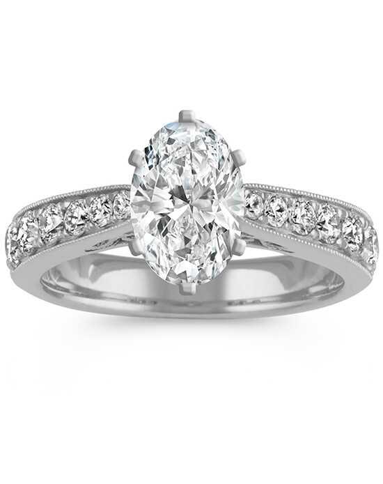 shane co - Emerald Cut Wedding Ring
