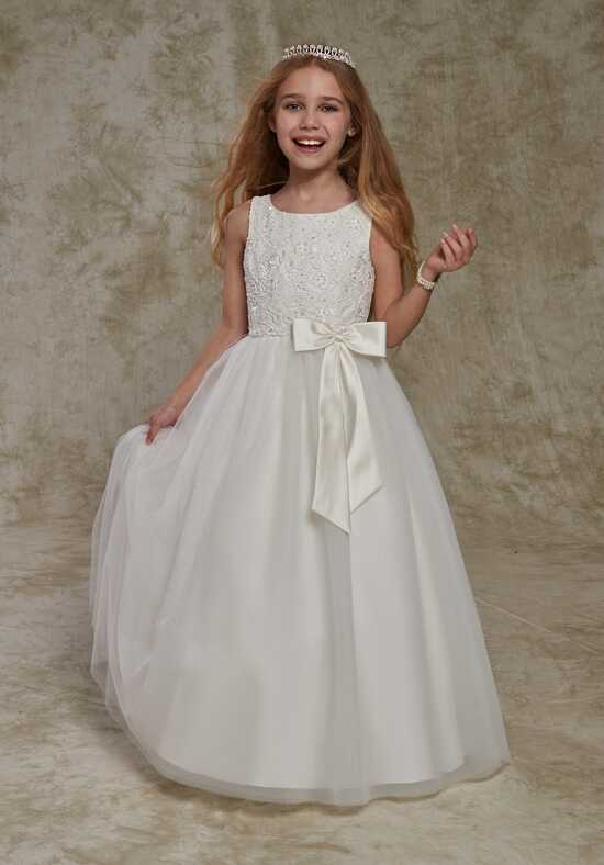 Cupids by Mary's F539 Ivory Flower Girl Dress