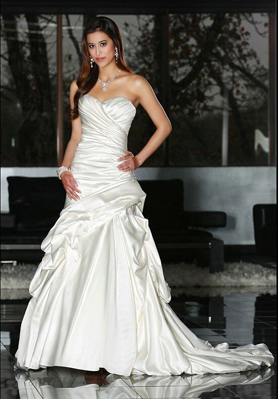 DaVinci Bridal 50204 Mermaid Wedding Dress