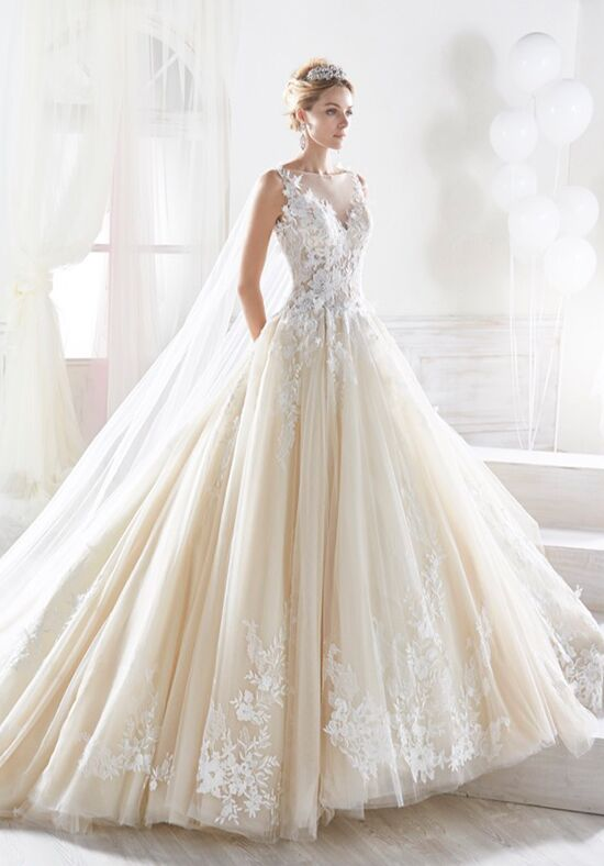 Nicole Collection 2018 NIAB18093 Ball Gown Wedding Dress