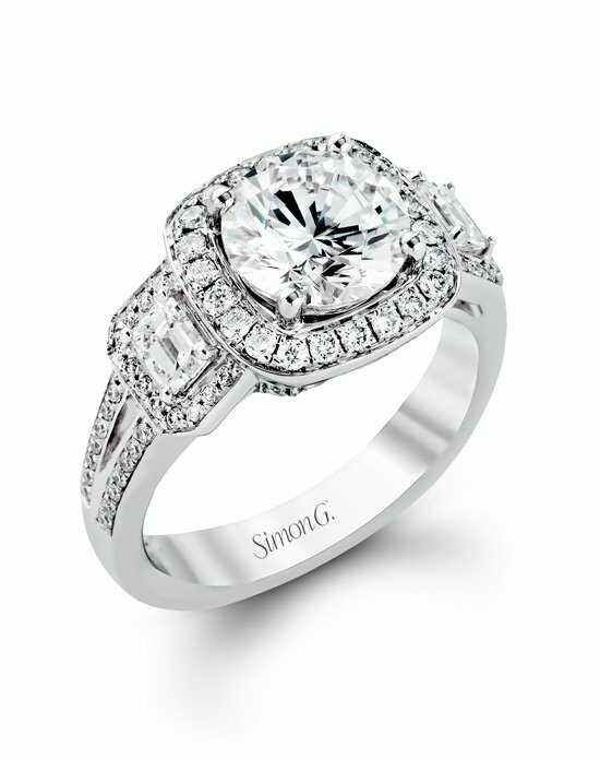 Simon G. Jewelry TR484 Engagement Ring photo