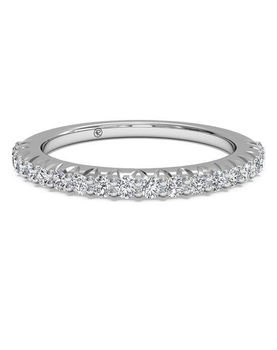 Ritani Women's French-Set Diamond Wedding Band - in 14kt White Gold (0.33 CTW) White Gold Wedding Ring