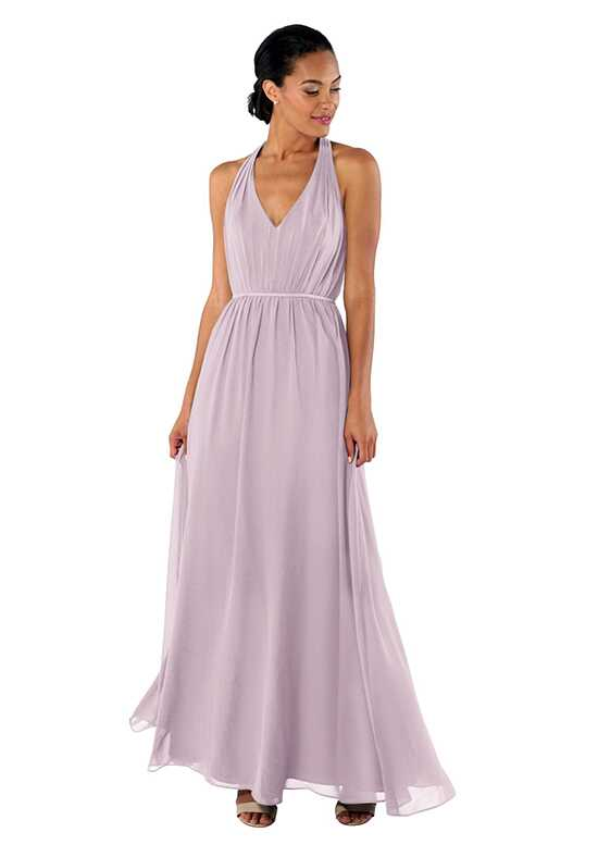 Brideside Brideside Veronica in Macaron Halter Bridesmaid Dress