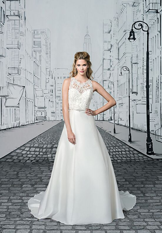 Justin Alexander 8902 A-Line Wedding Dress