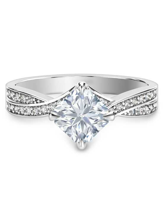 wide shank unique jewellery products diamond rings engagement ring twisted mullen collections split