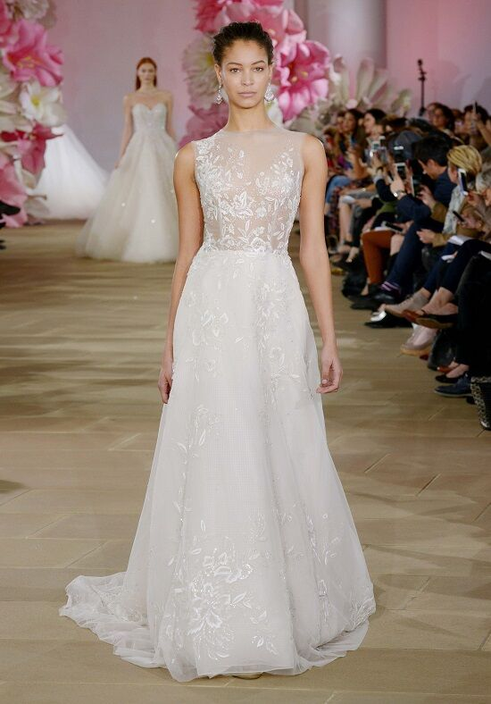 Ines Di Santo Delightful A-Line Wedding Dress