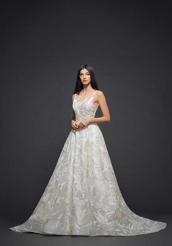 Lazaro 3817 Ball Gown Wedding Dress