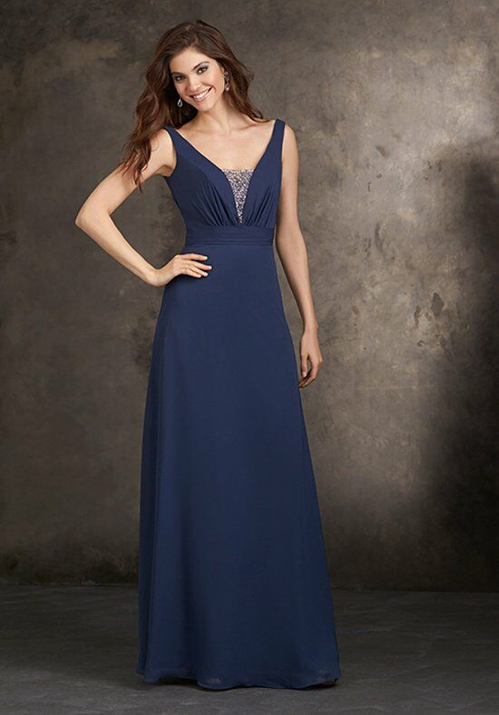 Allure Bridesmaids 1421 V-Neck Bridesmaid Dress