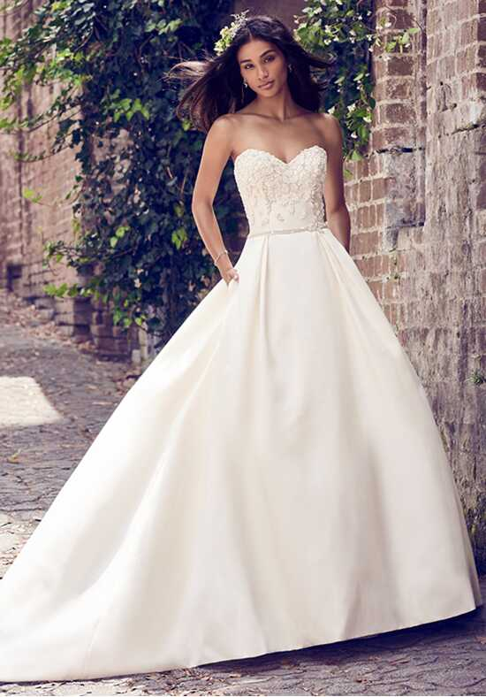 Maggie Sottero Giselle Ball Gown Wedding Dress