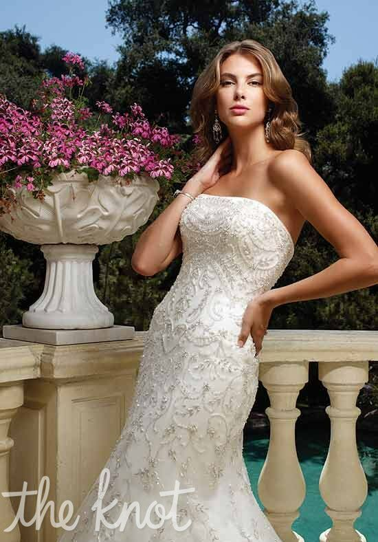 Casablanca Bridal 1978 Mermaid Wedding Dress
