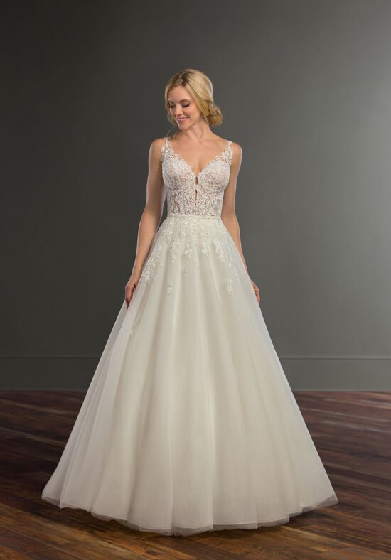 Martina Liana Bronte + Sabene A-Line Wedding Dress