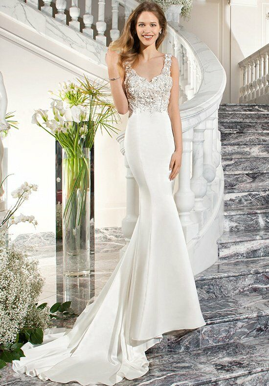 Demetrios C221 Sheath Wedding Dress