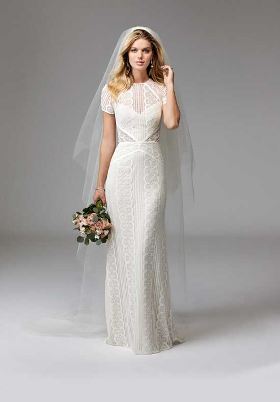Wtoo Brides Lenora 17120B Sheath Wedding Dress
