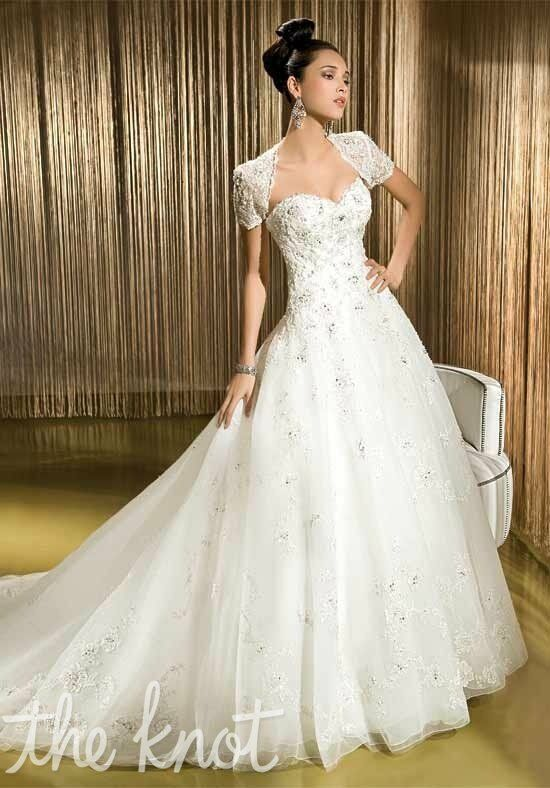 Demetrios 1406 A-Line Wedding Dress