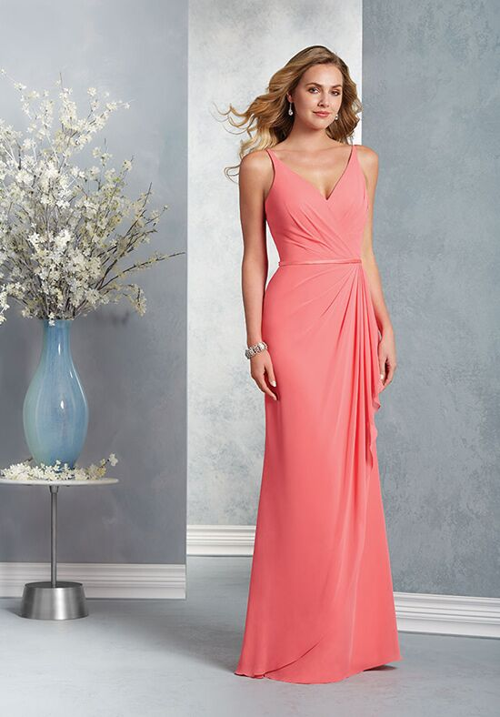 Alfred Angelo Signature Bridesmaids Collection 7403 V-Neck Bridesmaid Dress