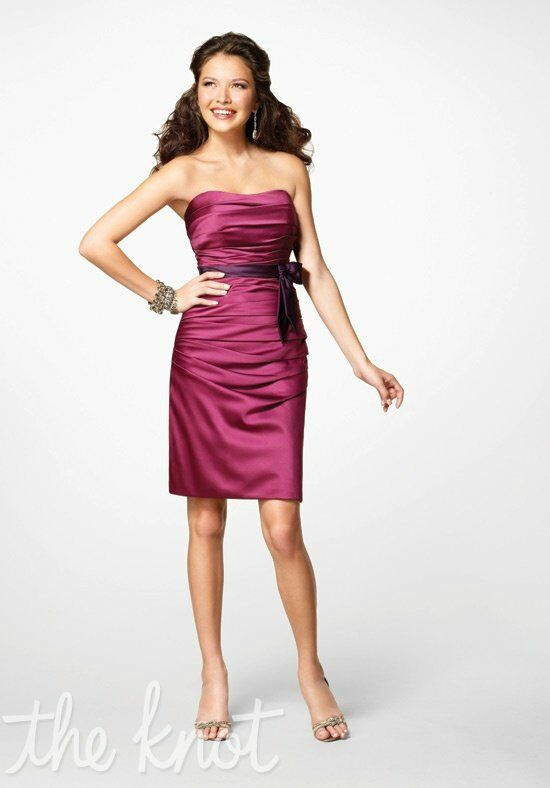Alfred Angelo Signature Bridesmaids Collection 7123 Strapless Bridesmaid Dress
