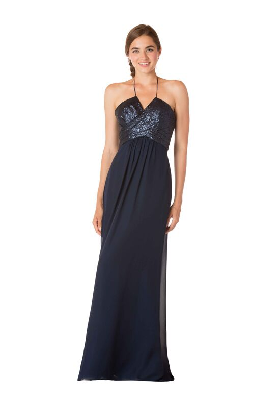 Bari Jay Bridesmaids 1734 Halter Bridesmaid Dress