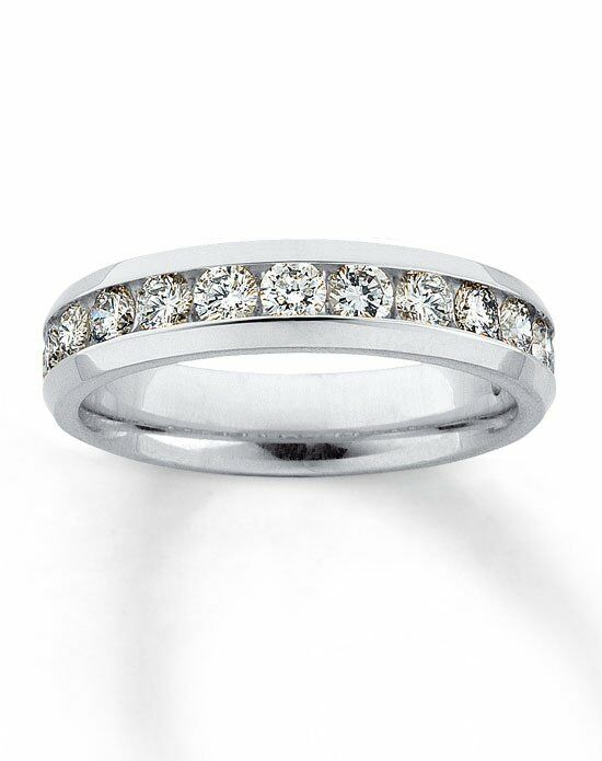 Kay Jewelers Diamond Band 14K White Gold Supreme Fit 1ct Tw 530095405 White  Gold Wedding