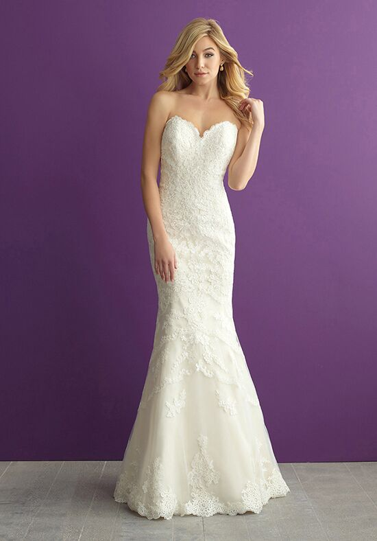 Allure Romance 2954 Sheath Wedding Dress