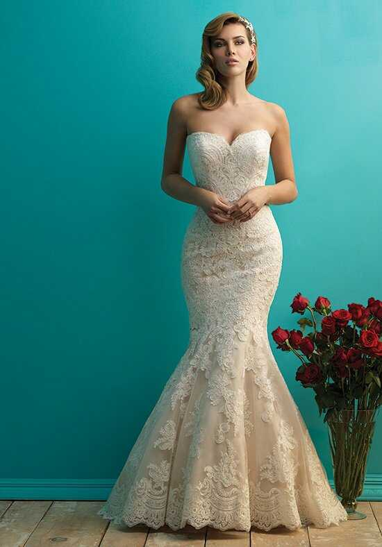Allure Bridals 9250 Sheath Wedding Dress