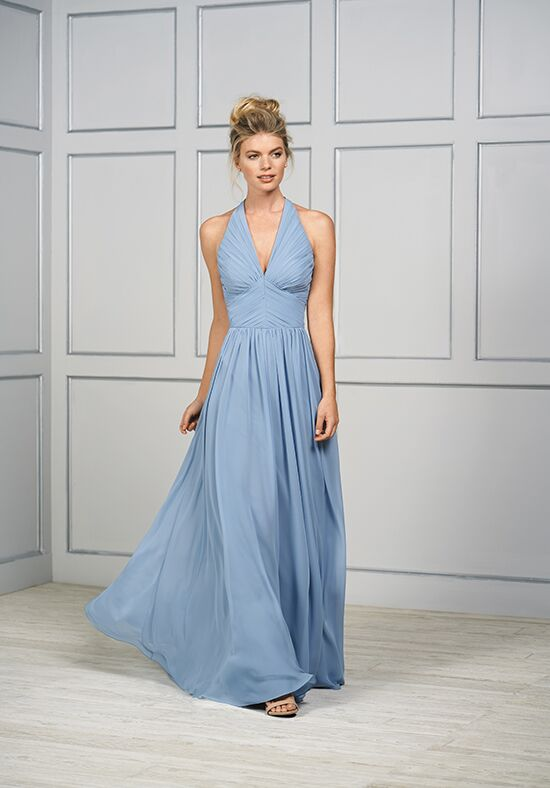 B2 by Jasmine B193052 Halter Bridesmaid Dress