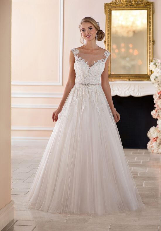 Stella York 6349 A-Line Wedding Dress