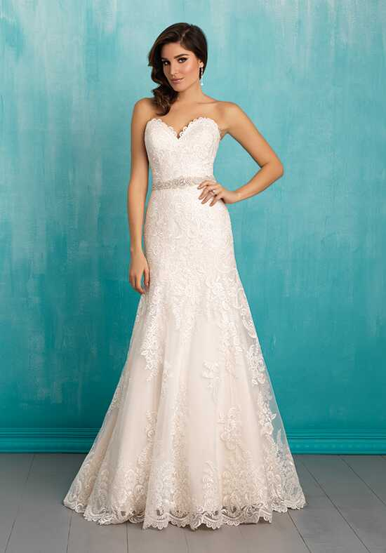 Allure Bridals 9302 A-Line Wedding Dress
