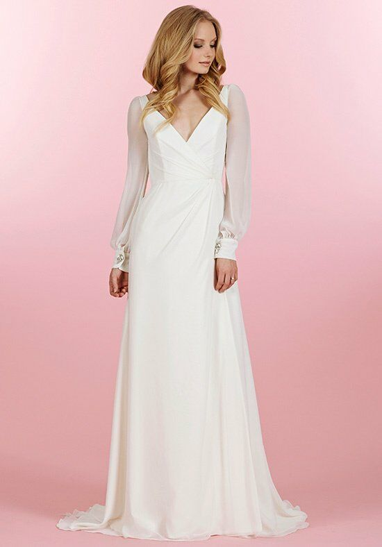 Blush by Hayley Paige 1456/Vienna Sheath Wedding Dress