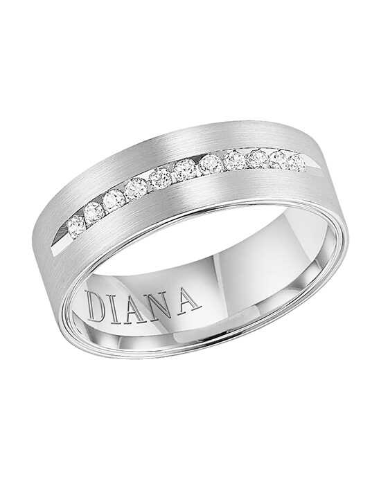 Diana 21-N7620W-G.00 Gold Wedding Ring