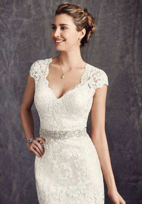 Kenneth Winston: Ella Rosa Collection BE277 Sheath Wedding Dress