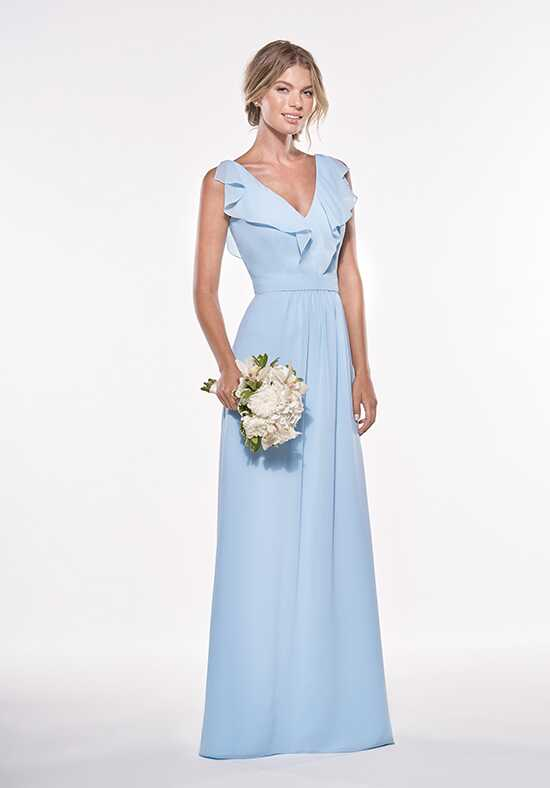 JASMINE P196007 V-Neck Bridesmaid Dress