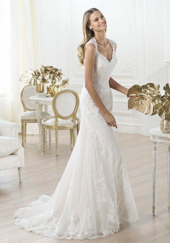 Ovias Laren A Line Wedding Dress