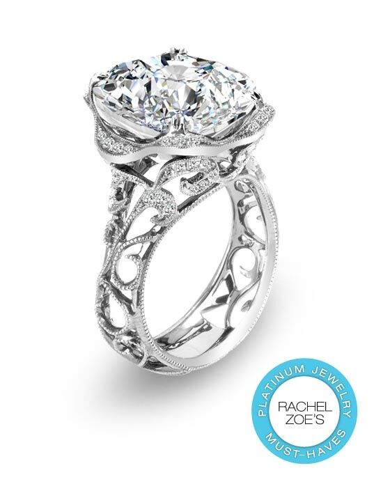 Deactive Rachel Zoes Platinum Must-Haves Parade Designs Platinum Wedding Ring