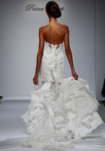 Pnina Tornai for Kleinfeld 4354 A-Line Wedding Dress
