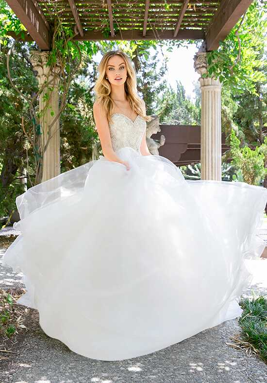 Moonlight Couture H1340 Ball Gown Wedding Dress