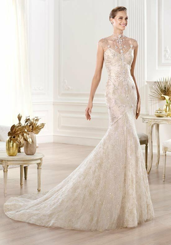 PRONOVIAS Yalim Mermaid Wedding Dress
