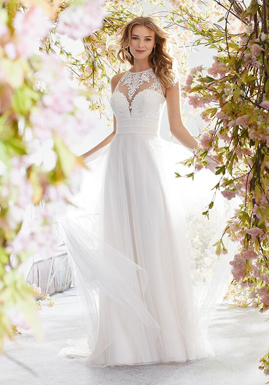 Morilee by Madeline Gardner/Voyage 6894 / Luna A-Line Wedding Dress