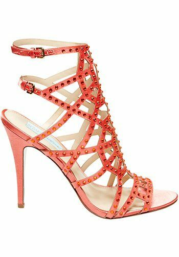 Blue by Betsey Johnson SB Carat Coral Wedding Shoes The Knot