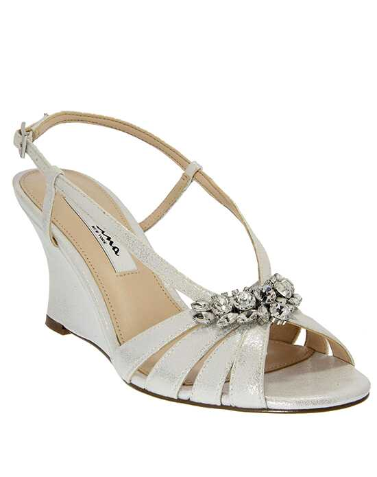 Nina Bridal Wedding Accessories Vianni_Silver Wedding Shoes photo