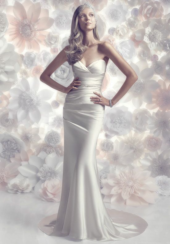 Amaré Couture by Crystal Richard B096 Sheath Wedding Dress
