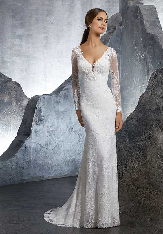 Morilee by Madeline Gardner/Blu Kimi/5613 Sheath Wedding Dress