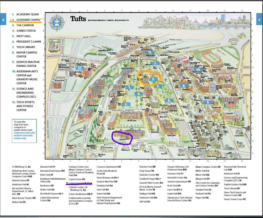 Tufts Medford Campus Map.Shawna Wright And Shaun Smith S Wedding Website