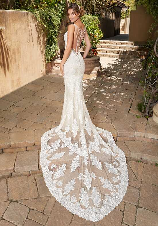 KITTYCHEN NOELLE, H1730 Sheath Wedding Dress