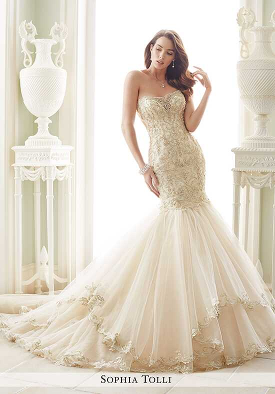 Sophia Tolli Y21657 Amalfi Mermaid Wedding Dress
