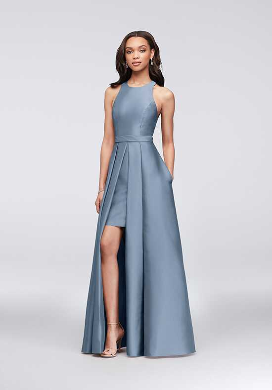 David's Bridal Collection David's Bridal Style F19822 Scoop Bridesmaid Dress