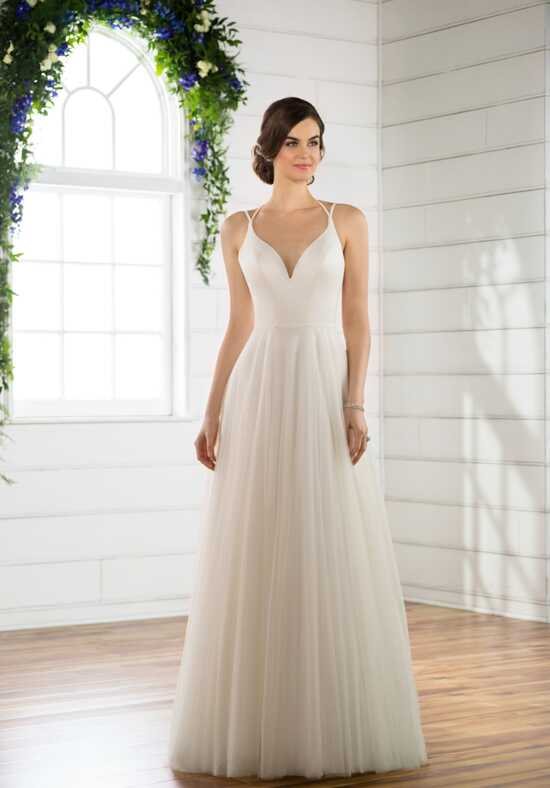Essense of Australia D2430 A-Line Wedding Dress