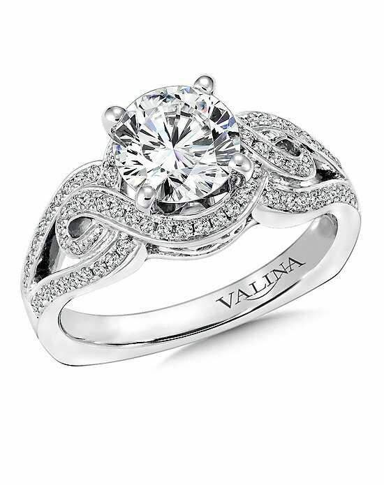 Valina Round Cut Engagement Ring