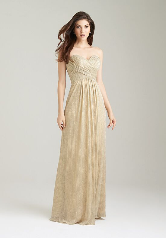 Gold Bridesmaid Dress