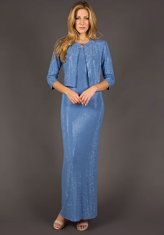Grayse Wedding Party W2420416 Blue Mother Of The Bride Dress